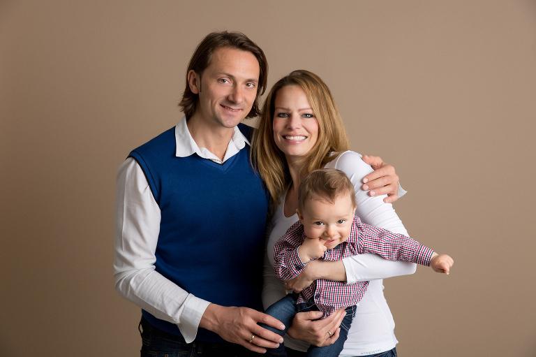 Familien Fotoshooting Studio