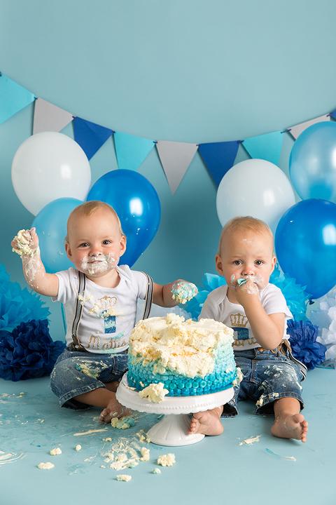 Geburtstags Fotoshooting Kuchenschlacht