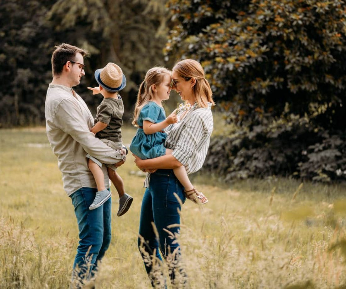 Familien Outdoorshooting NRW